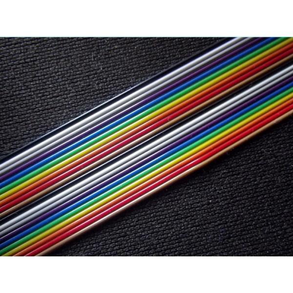 C ble plat en nappe 20 fils 1m - Cable electrique plat ...