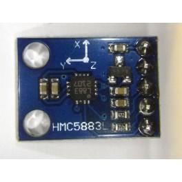 Capteur HMC5883L de champ magnétique, boussole
