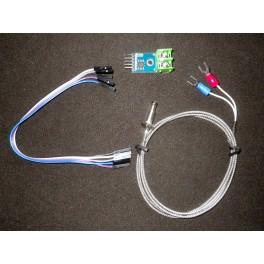 Thermocouple de type K avec module d'amplificateur numérique MAX6675