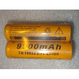 Batterie rechargeable lithium ion 18650 3,7V