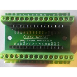 Support bornier à vis pour carte Arduino NANO