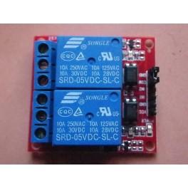 Module de relais à 2 canaux pour Arduino