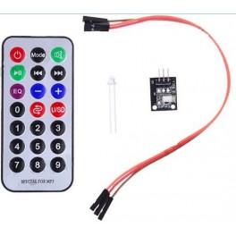 Kit complet de télécommande infra rouge pour Arduino