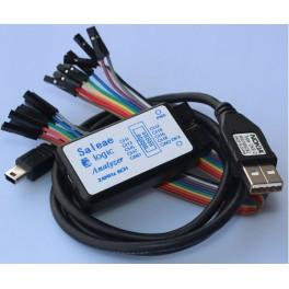 Analyseur logique 8 canaux 24 MHz USB