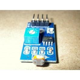 Module capteur de lumière ajustable à photo-résistance