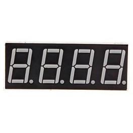 Afficheur 4 chiffres 7 segments cathode commune