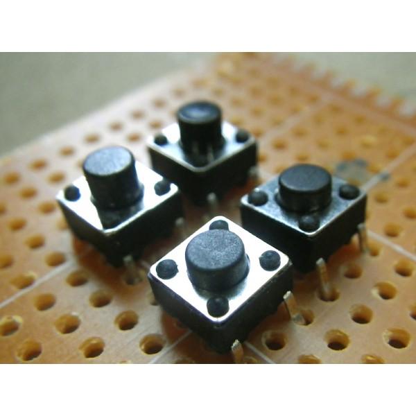 lot 5 boutons poussoirs contact lectronique arduino. Black Bedroom Furniture Sets. Home Design Ideas