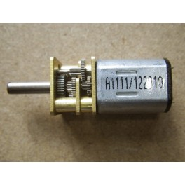 Moteur électrique 12V réduction 1:150 en métal