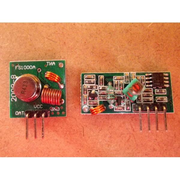 Arduino RF Module Émetteur et Récepteur sans Fil 433 Mhz Electronique