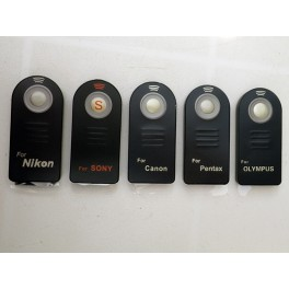 Télécommande infra-rouge sans fil pour appareil photo