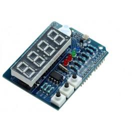 TickShield multifonction (afficheur led boutons buzzer horloge thermometre lumiere)