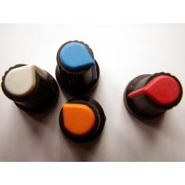 Bouton de potentiometre rotatif en ABS