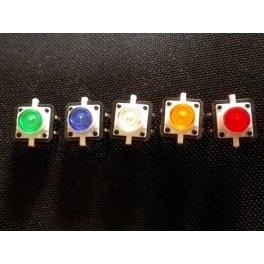 Bouton poussoir avec LED incorporee