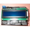 Ecran LCD1602 16 x 2 caractères et clavier