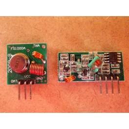 Module de transmission radiofréquence 433 Mhz, émetteur et récepteur